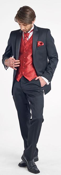 Tuxedo Solapa Recta