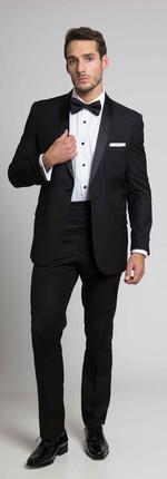 Tuxedo Solapa Smoking Negro