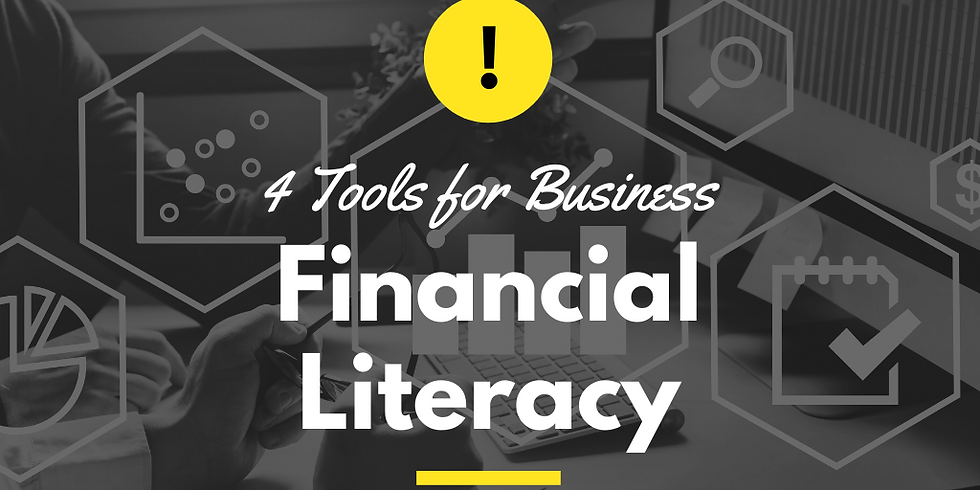 4 Tools for Business Financial Literacy - A Cyndicate Talk