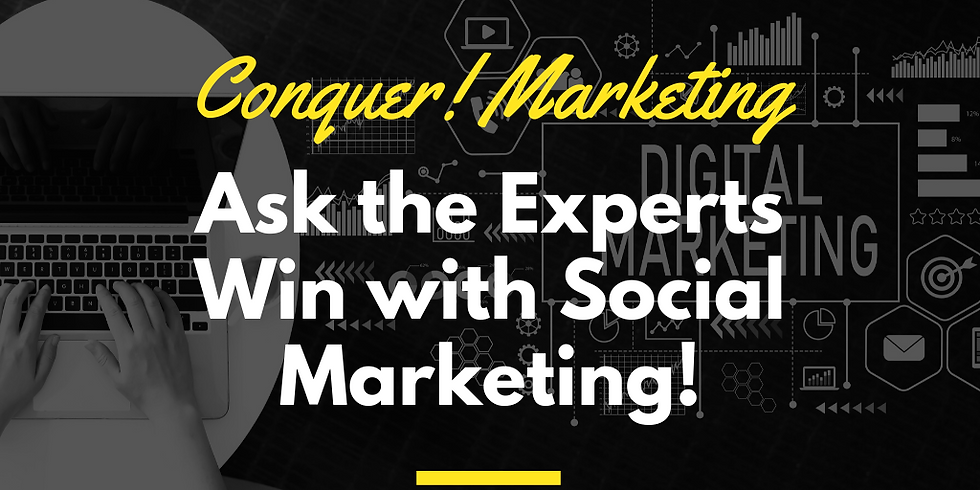 Conquer! Marketing - Q&A time from the experts about Social Media Marketing - A Cyndicate Talks