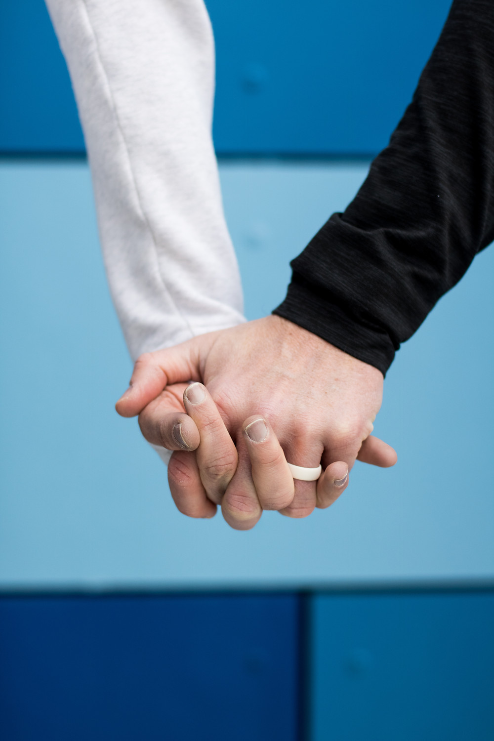 Lee Ann Jolly & Burke Jolly holding hands, it's all about relationship.