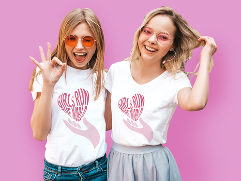 Girls Run The World T-Shirt