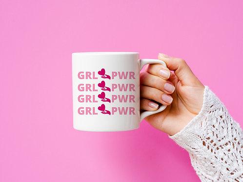 GRL PWR x4 Mug