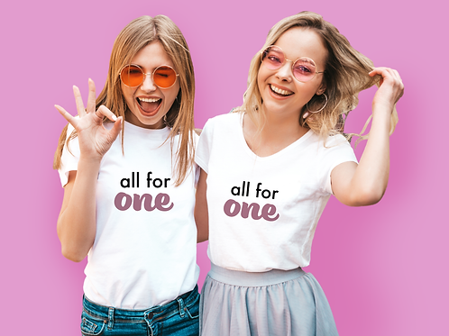 All For One T-shirt