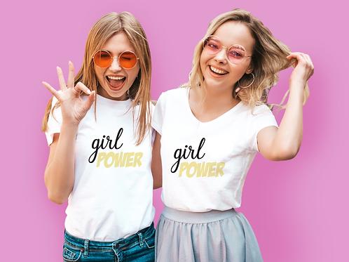 Yellow Girl Power T-Shirt