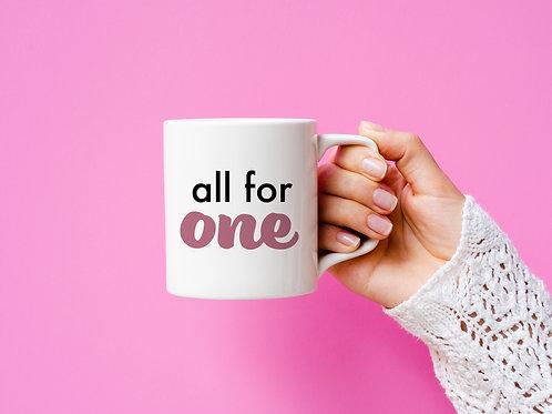 All for One Mug