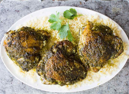 Roasted Chicken with Pesto