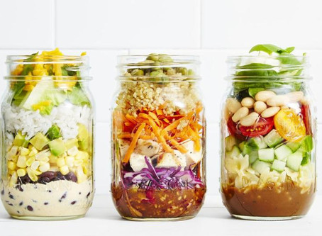 Your Solution to the Lunchtime Salad Rut: Salad in a Jar!