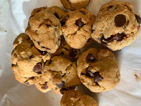 The Most Scrumptious, Nutritious, (and totally grain-free) Chocolate Chip Cookies Ever!