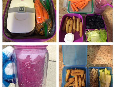 What a Nutritionist's Kids Pack for Lunch