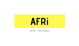 AFRi アーティストフリマに参加します。