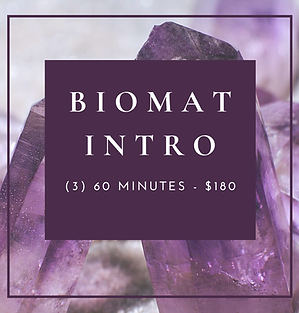 Biomat Intro Package - (3) 60 Minutes