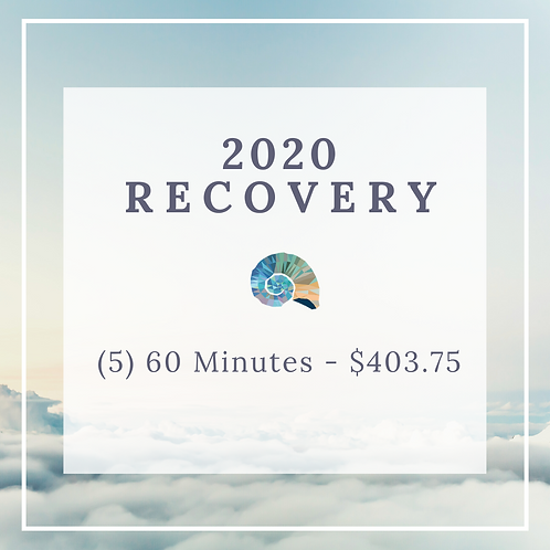 2020 Recovery - (5) 60 Minute Massages