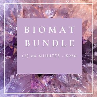 Biomat Bundle - (5) 60 Minutes