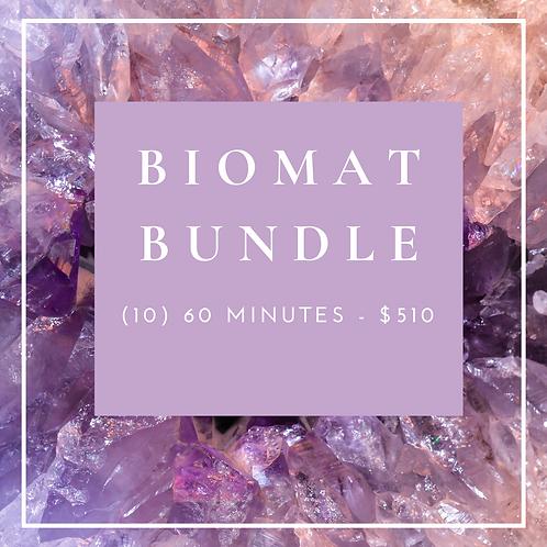 Biomat Bundle - (10) 60 Minutes