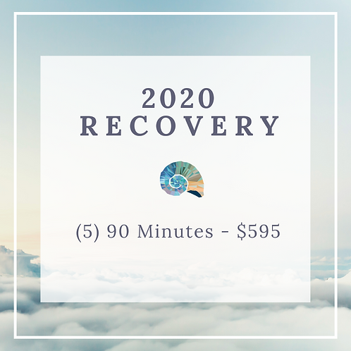 2020 Recovery - (5) 90 Minute Massages