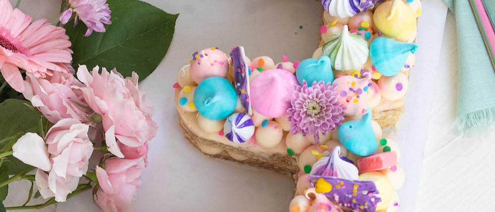 DEPOSIT - Number Cake