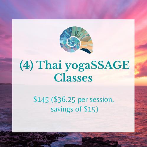(4) Thai yogaSSAGE Classes
