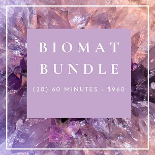 Biomat Bundle - (20) 60 Minutes