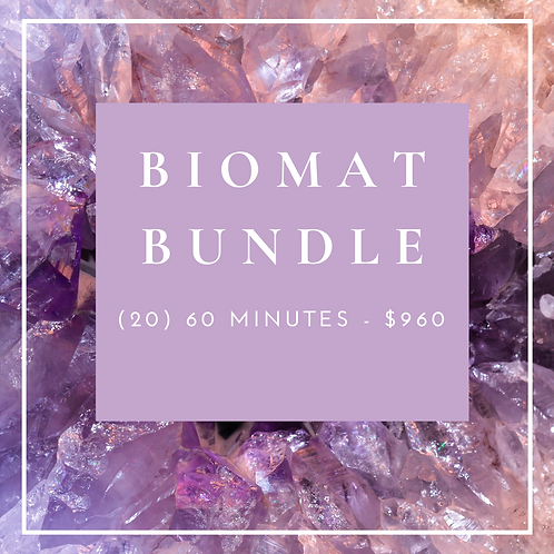 Biomat Bundle - (20) 60 Minutes