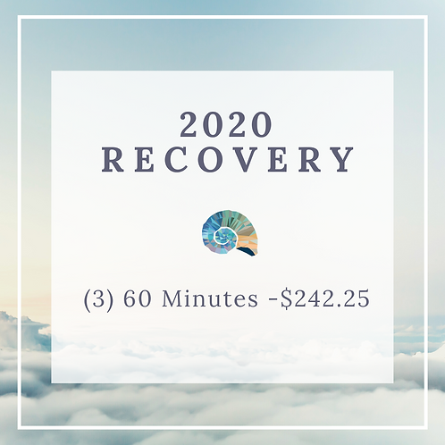 2020 Recovery - (3) 60 Minute Massages
