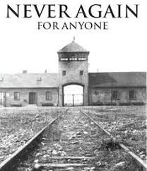 District Council visit to Auschwitz.