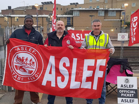 ASLEF members back their union with massive Yes votes