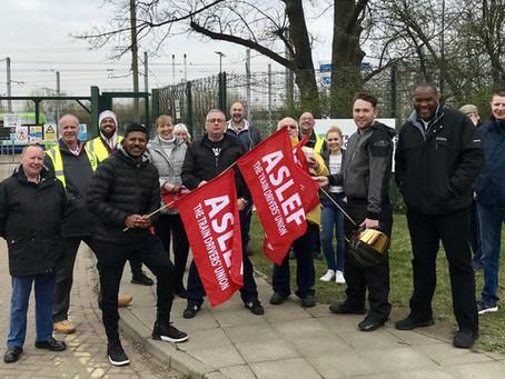 ASLEF suspends Tramlink strike after breakthrough in ACAS talks.