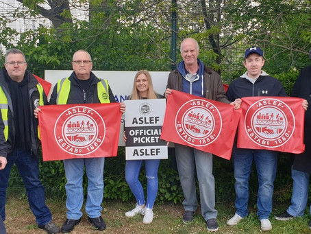 Solid strike action on Tramlink as management refuse to talk!