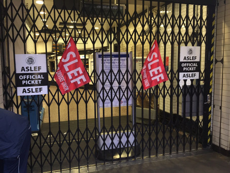 98% Yes vote for strike at Acton Town.