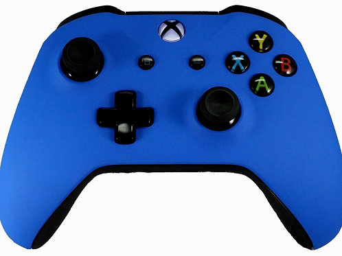 Xbox One S Blue Soft Touch Controller