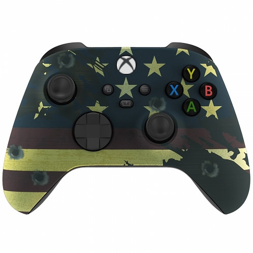 Xbox Series / One S / X Modded Rapid Fire Controller- American Flag