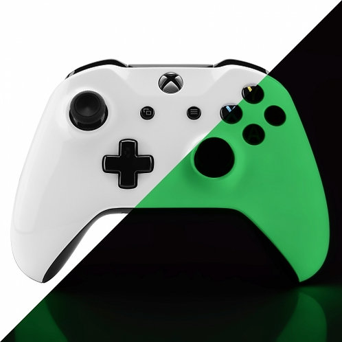 Xbox Custom Glow In The Dark Modded Controller - Xbox Series One Compatible