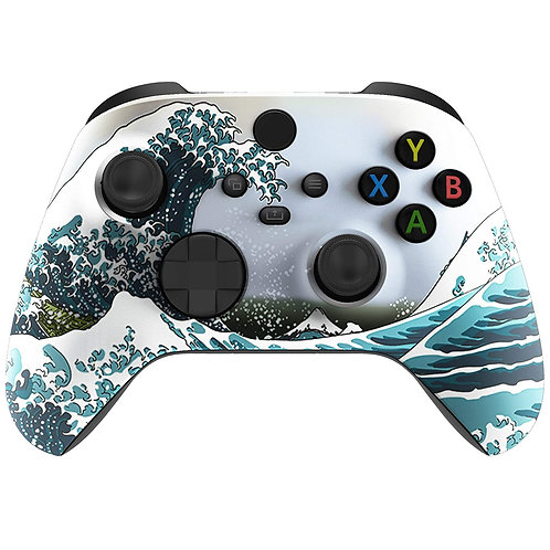 Xbox Series / One X Custom Modded Controller (Waves)