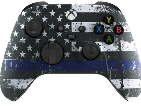 Xbox Series / One S Soft Touch Controller (Blue Line)