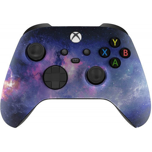 Xbox Series / One/ Modded Soft Touch Controller (Galaxy)