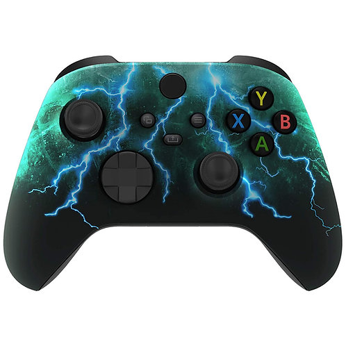 Xbox Series / One S Blood Splatter Soft Touch Controller (Lightning)