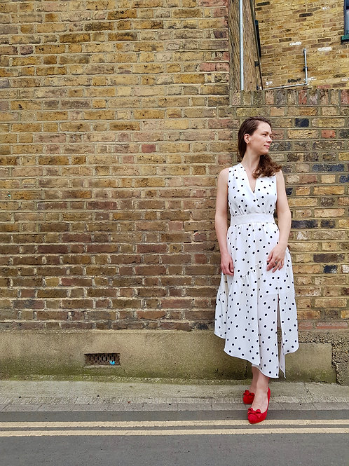 Lynn Pinafore and Skirt Pattern Print ONLY