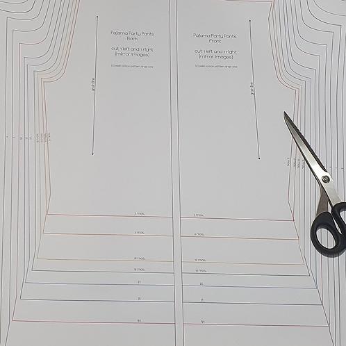 """36"""" Pattern Print Per Sheet"""