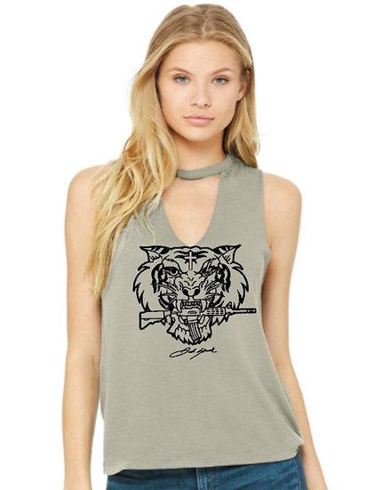 Tiger's Eye Graphic Tank