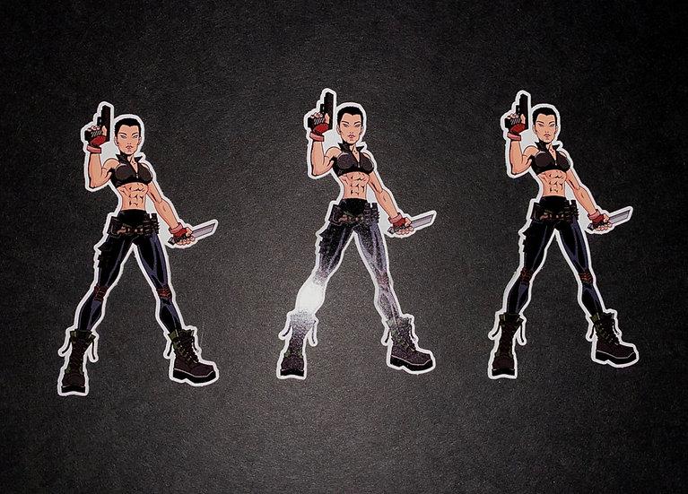 """Anime"" Sticker 3-Pack"
