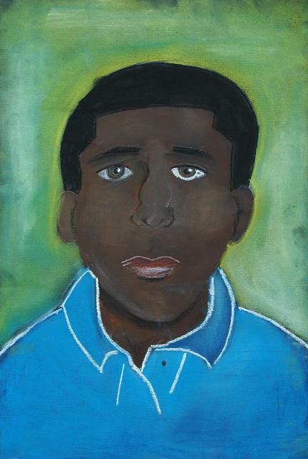 Clifford, self-portrait