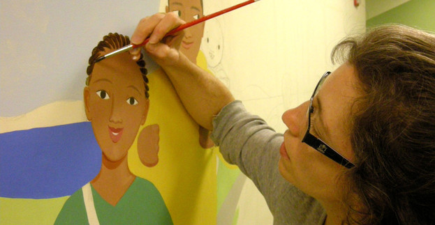 Lizzy Painting