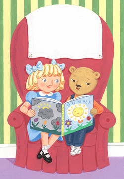 Goldilocks and Little Bear Reading