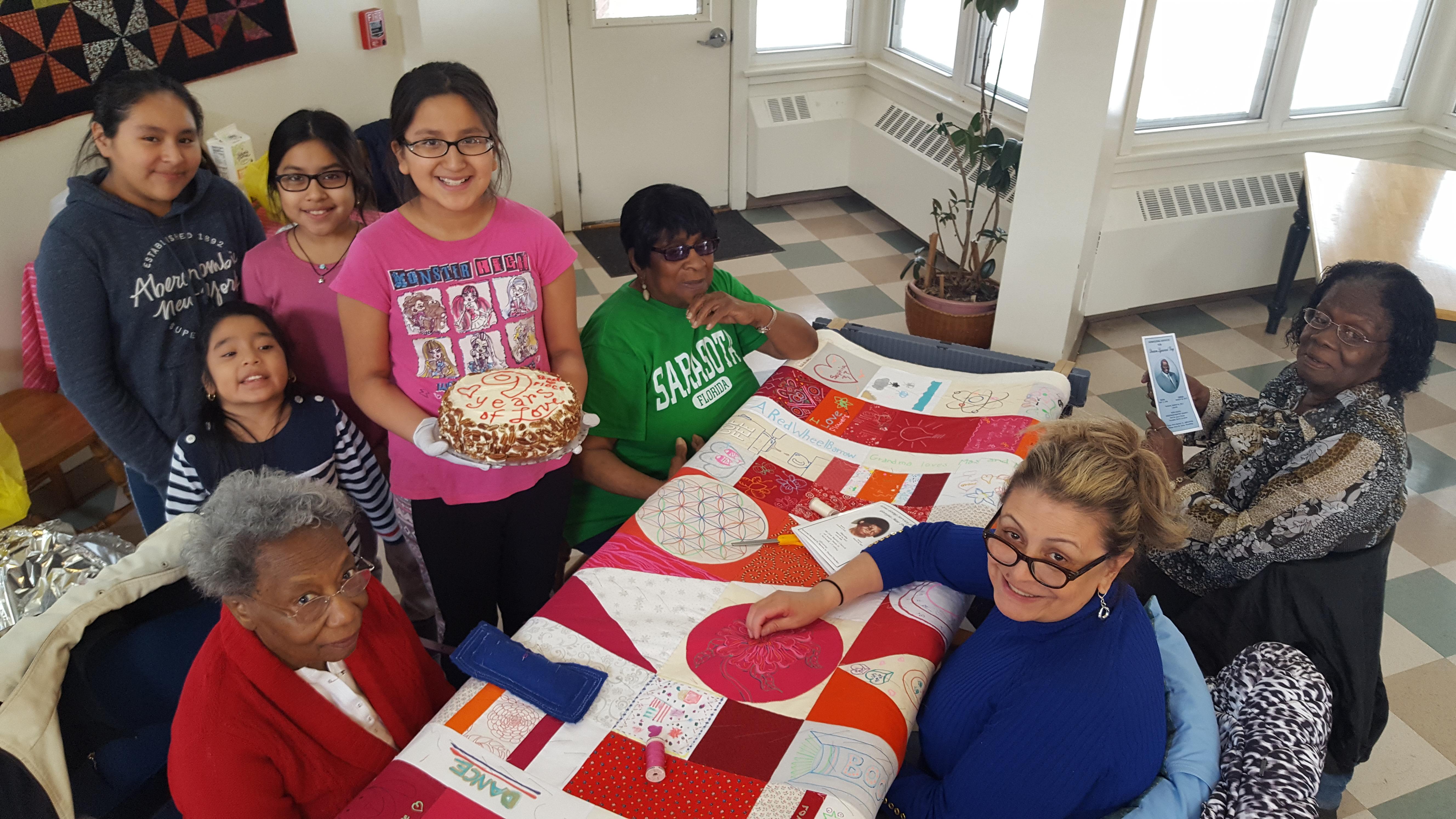 9 years celebration cake