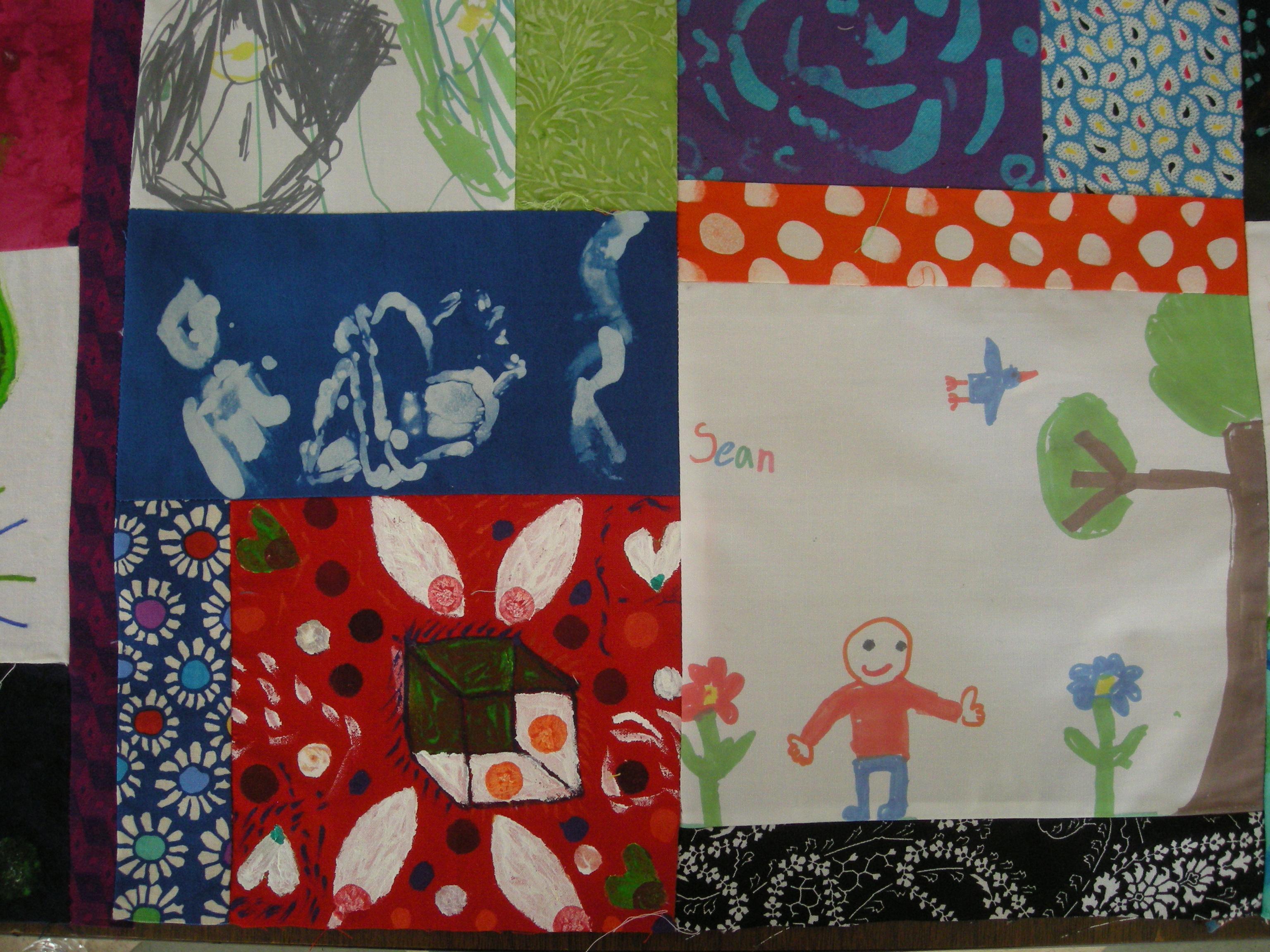 Quilt fabric art