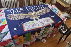 Take Flight Quilt top assembled