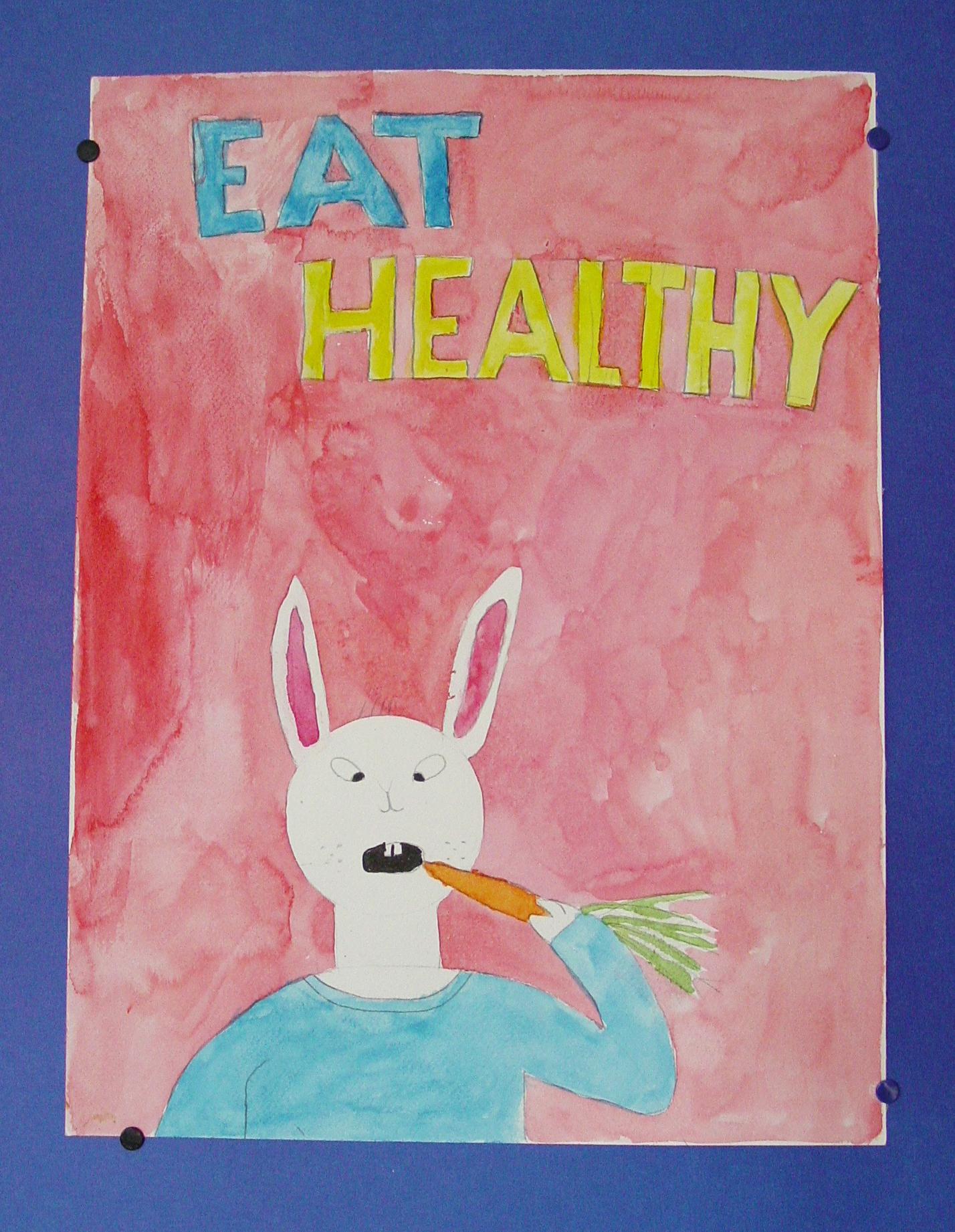 Eat Healthy Bunny