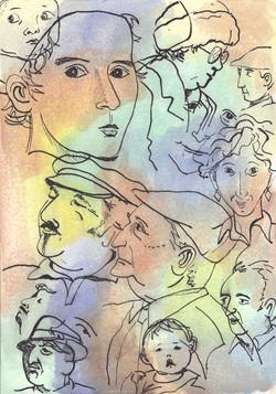 Faces Montage