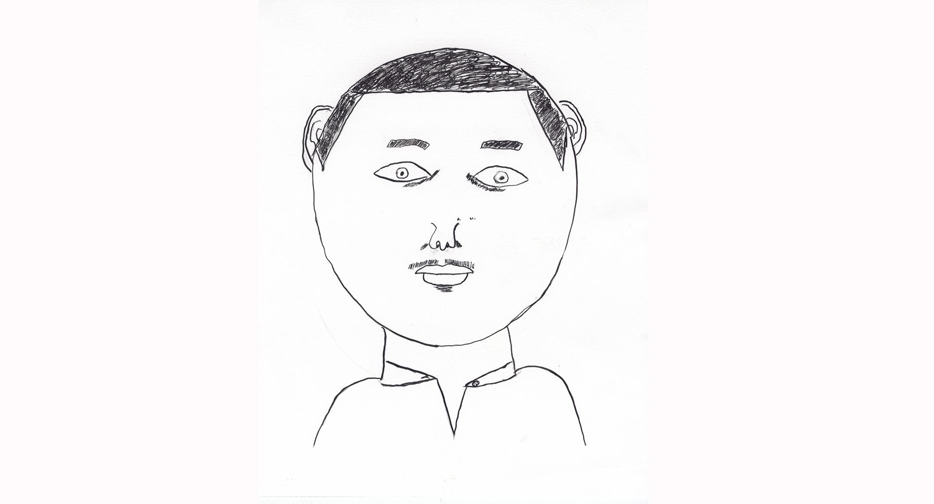 Robert's self portrait